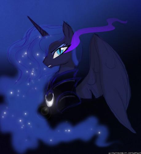 Princess Luna fond d'écran titled Awesome Luna pics