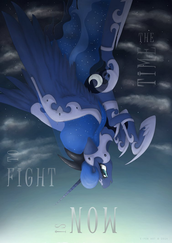 Princess Luna fond d'écran containing a triceratops titled Awesome Luna pics
