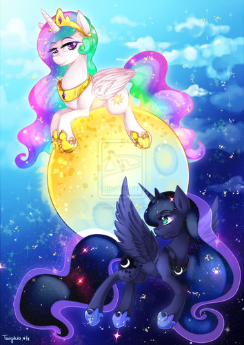 Princess Luna fond d'écran probably with animé entitled Awesome Luna pics