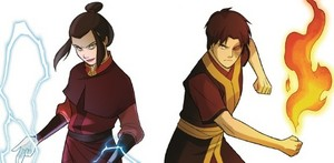Azula and Zuko