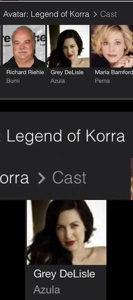 Azula in Korra?
