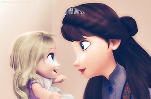 Baby Elsa and her Mother