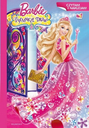 búp bê barbie & The Secret Door Book!