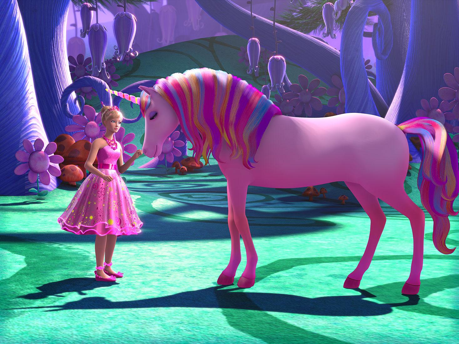 Barbie & The Secret Door Original HD Stills!