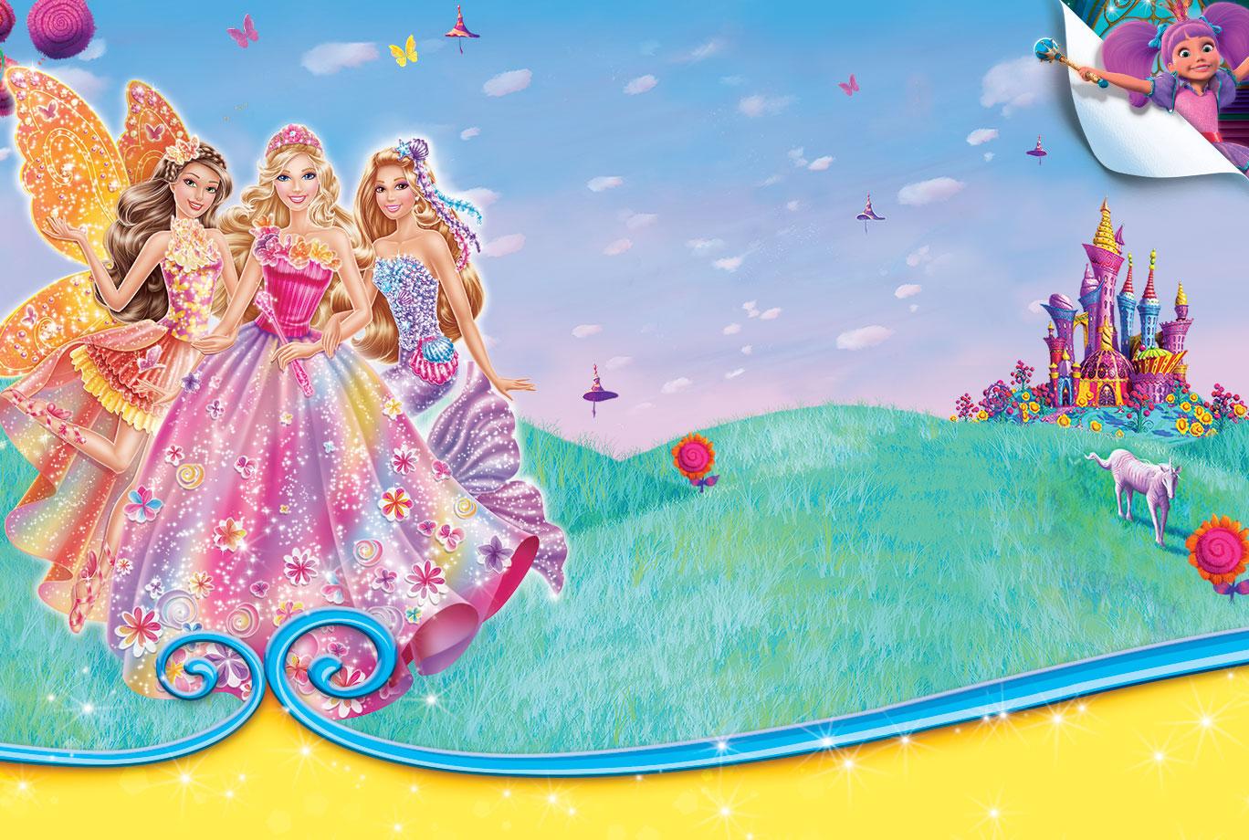 barbie & The Secret Door Wallpaper!