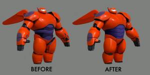 Baymax design process