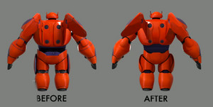 Baymax Design process