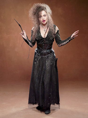 Harry Potter achtergrond possibly with a kiel, gewaad and a cocktail dress entitled Bellatrix Lestrange