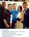 Ben and the cast of Arrow - benedict-cumberbatch photo