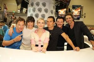 Benedict and Hobbit Cast
