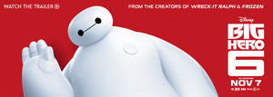 Big Hero 6 Baymax Disney Store Banner