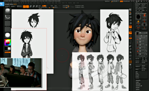 Big Hero 6 Hintergrund titled Big Hero 6 Concept Art