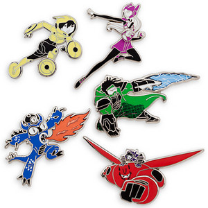 Big Hero 6 Limited Edition Pin Set