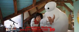 Big Hero 6 TV Spot Screencaps