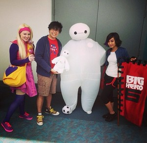 Big Hero 6 at San Diego Comic Con 2014