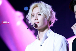 Blonde Hair Taemin 2014