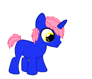 Blue Fedora as a colt.