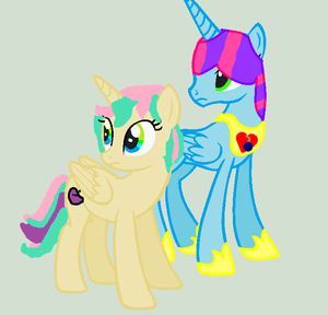 Bluecherry and Curlycue :D