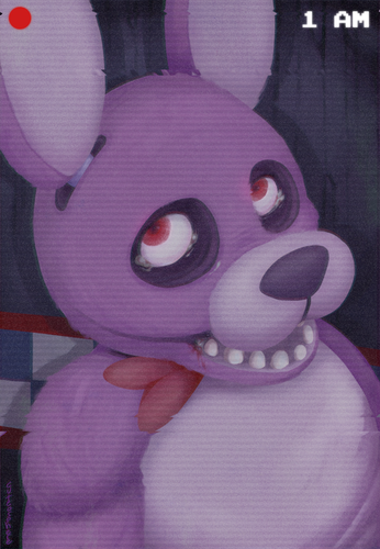 Five Nights at Freddy's achtergrond called Bonnie the Rabbit...or bunny?