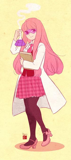 Bubblegum school uniform