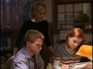Buffy Willow and Oz