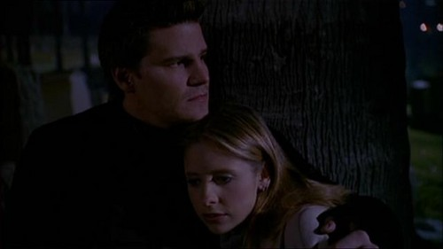 Bangel wallpaper probably with a portrait entitled Buffy and Angel