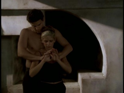 Bangel wallpaper probably with skin entitled Buffy and Angel