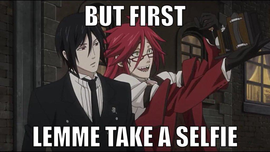 Selfie with my waifu.