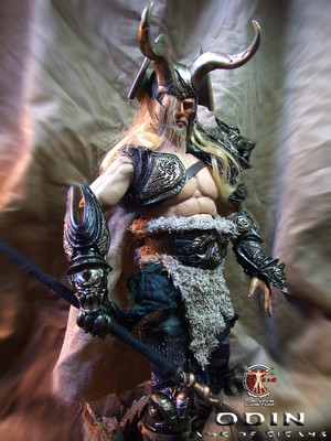 Calvin's Custom One Sixth Scale Odin figure