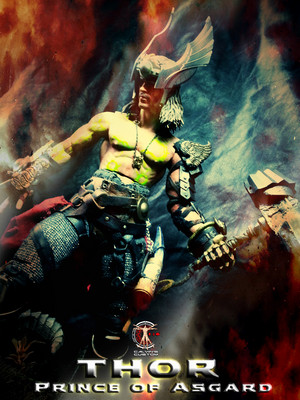 Calvin's Custom One Sixth Scale THOR  Prince of Asgard