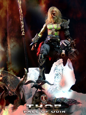Calvin's Custom One Sixth THOR: Fall of Odin custom figure