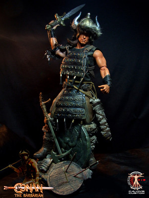 Calvin's Custom One Sixth scale Arnold Schwarzenegger Conan the Barbarian figure