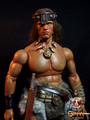 Calvin's Custom One Sixth scale Arnold Schwarzenegger Conan the Destroyer figure