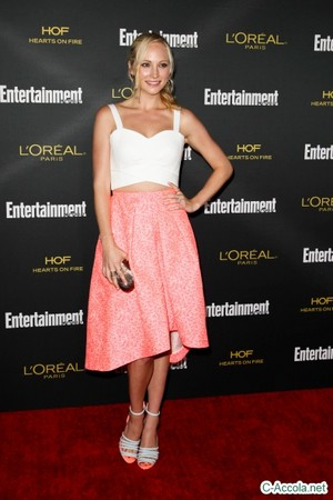 Candice attends Entertainment Weekly's Pre-Emmy Party