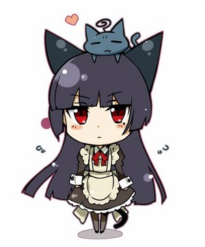 Chibi Kuroneko