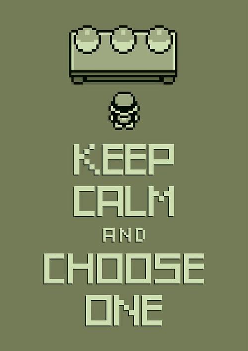 Choose Your Starter