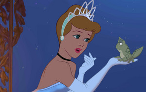 Cinderella as Tiana