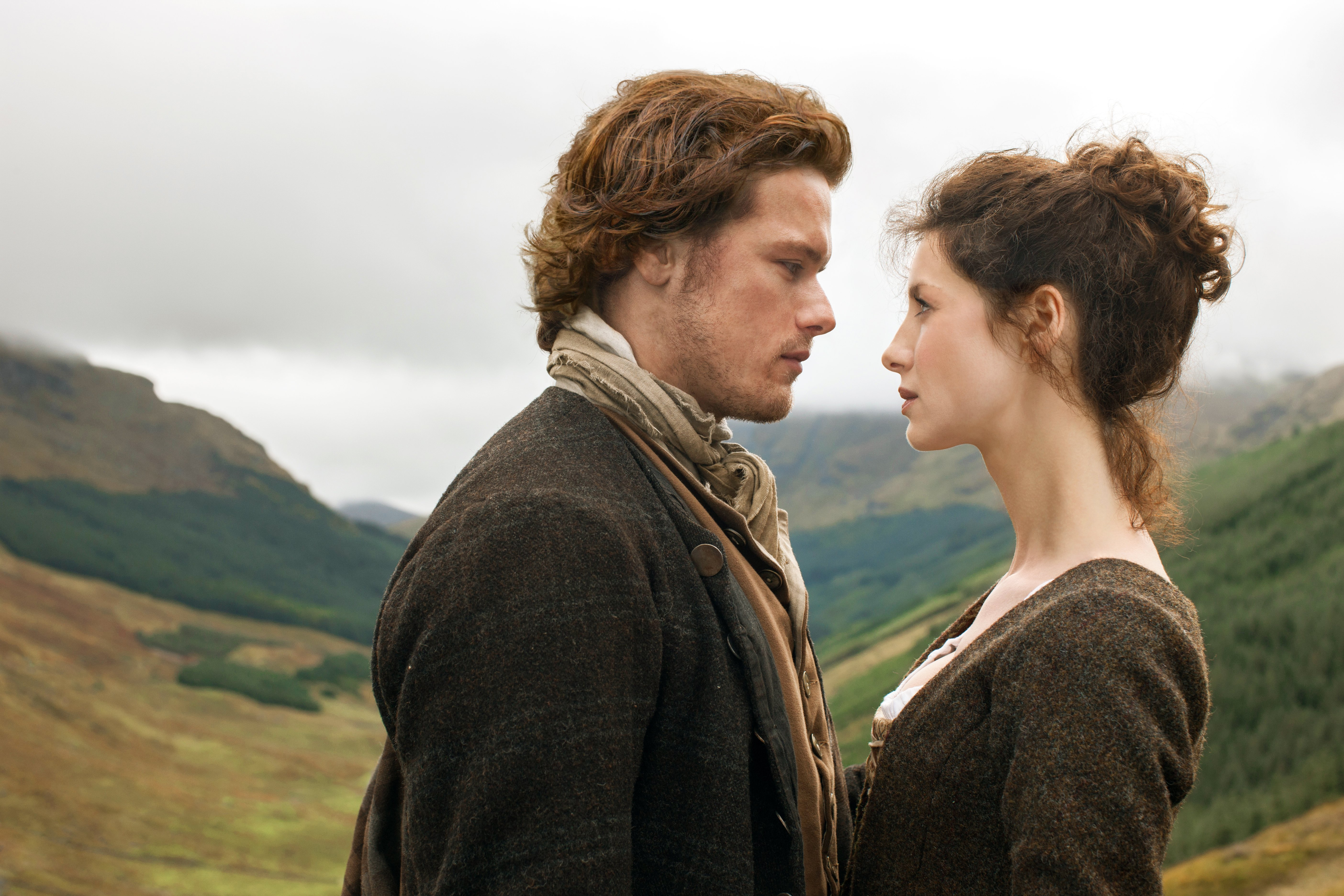 Claire and Jamie Fraser