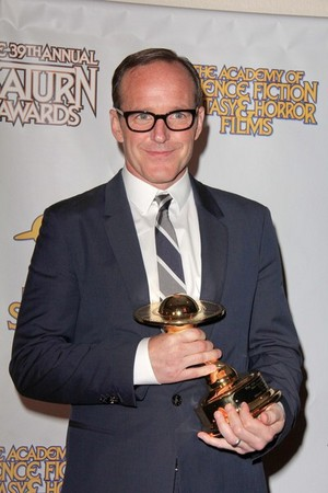 Clark at the Saturn Awards