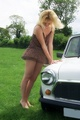 Classic Mini Babe - girls-n-cars photo