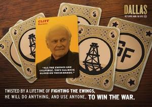 Cliff Barnes | Dallas TNT Poster