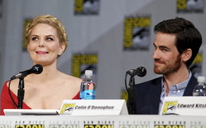Colin O'Donoghue and Jennifer Morrison - Comic Con 2014 ❤