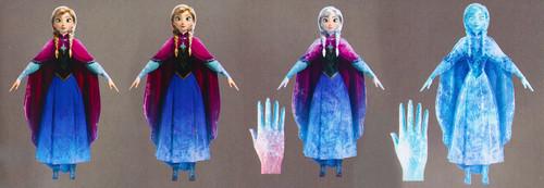 nagyelo wolpeyper entitled Concept art of Elsa's powers in the last act of nagyelo