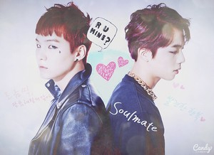 Continuation of the first pic of SUGAxJin ship~~