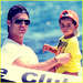 Cristiano and his son - cristiano-ronaldo icon