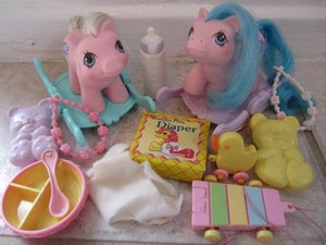 Cute baby ponies from the 80s