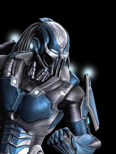 Mortal Kombat kertas dinding called Cyber Sub-Zero