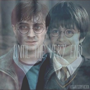 Daniel Radcliffe as Harry potter ♥