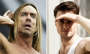 Daniel Radcliffe says he'd like to play Iggy Pop! (Fb.com/DanielJacobRadcliffeFanClub)