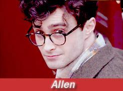 Daniel as Allen in Kill your darlings